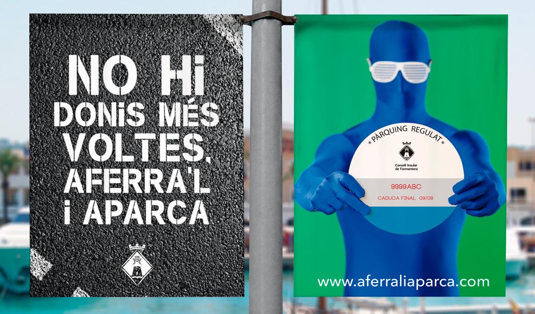 CONSELL DE FORMENTERA: AFERRA'L I APARCA