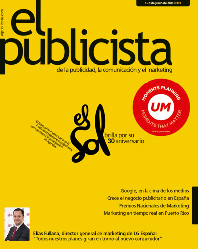"""""""LA AGENCIA FARO DIRIGE CAMPAÑA PARA EL CONSELL DE FORMENTERA.""""  <em>EL PUBLICISTA, revista líder de la publicidad en España. </em>"""