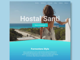 Web Hostal Santi